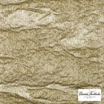 Christian Fischbacher Shine - 403    Curtain Fabric - Washable, Gold, Yellow, Wide-Width, Decorative, Fibre Blend
