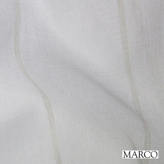 Marco Keppel - Gray  | Curtain Sheer Fabric - Wide-Width