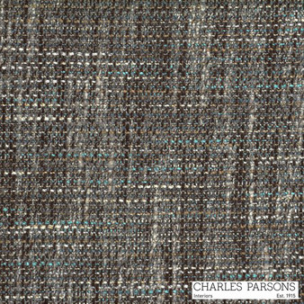 Charles Parsons Parisienne - Nutmeg  | Curtain & Upholstery fabric - Brown, Uncoated, Plain, Strie, Standard Width, Strie