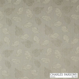 Charles Parsons Marseille - Mocha  | Curtain Fabric - Beige, Craftsman, Fibre Blends, Floral, Garden, Transitional, Uncoated, Washable, Domestic Use, Standard Width