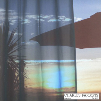 Charles Parsons Venice - Pewter  | Curtain Sheer Fabric - Fire Retardant, Washable, Grey, Uncoated, Wide-Width, Plain