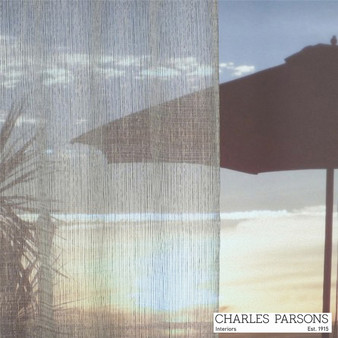 Charles Parsons Barrow - Creek Silver  | Curtain Sheer Fabric - Silver, Stripe, Synthetic, Uncoated, Washable, Commercial Use, Weighted Hem, Wide Width