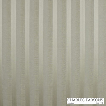 Charles Parsons Laurent - Mocha    Curtain & Upholstery fabric - Grey, Fibre Blends, Stripe, Traditional, Uncoated, Washable, Commercial Use, Standard Width