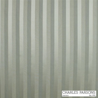 Charles Parsons Laurent - Aloe  | Curtain & Upholstery fabric - Grey, Fibre Blends, Stripe, Traditional, Uncoated, Washable, Commercial Use, Standard Width