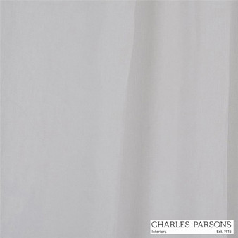 Charles Parsons Joe - Ivory  | Curtain Sheer Fabric - Linen/Linen Look, Uncoated, Wide-Width, Whites, Natural, Plain, Natural Fibre