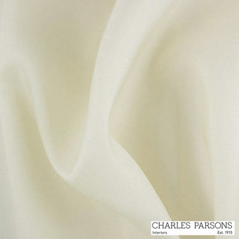 Charles Parsons Guardian - Plus 1p 150 Ivory    Curtain Lining Fabric - Washable, Wide-Width, Whites, Plain, Coated, Fibre Blend