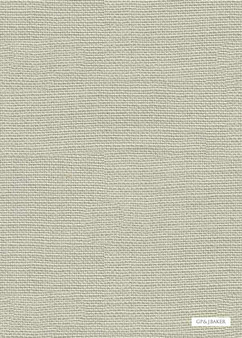 GPJ Baker - Lea - Eau De Nil  | Curtain & Upholstery fabric - Beige, Transitional, Natural, Plain, Slub, Natural Fibre, Standard Width