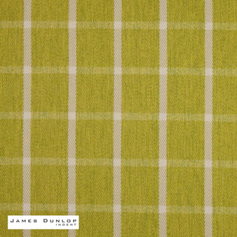 James Dunlop Indent - Haddington - Moss  | Curtain & Upholstery fabric - Fire Retardant, Check, Farmhouse, Fibre Blends, Geometric, Gingham, Washable, Commercial Use