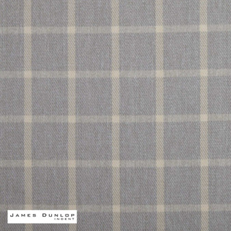 James Dunlop Indent - Haddington - Pebble  | Curtain & Upholstery fabric - Fire Retardant, Grey, Check, Farmhouse, Fibre Blends, Geometric, Gingham, Washable, Dry Clean