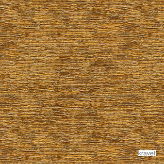 Kravet - First Crush - Saffron  | Upholstery Fabric - Gold,  Yellow, Plain, Synthetic, Chenille, Standard Width