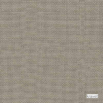 Kravet - Stone Harbor - Cement  | Curtain & Upholstery fabric - Plain, Linen and Linen Look, Natural Fibre, Natural, Standard Width