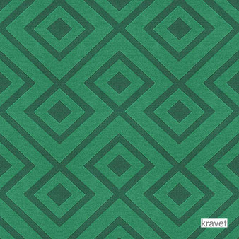Kravet - Rory'S Trellis - Adriatic  | Upholstery Fabric - Stain Repellent, Contemporary, Midcentury, Synthetic, Bacteria Resistant, Diamond - Harlequin, Odour Resistant