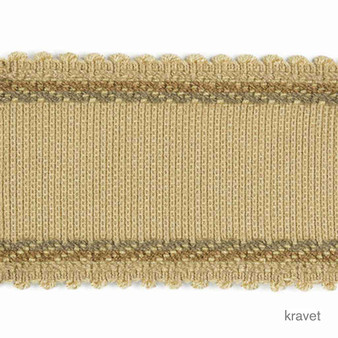 Kravet - Must Have - Jute  | Gimps & Braids, Curtain & Upholstery Trim - Beige, Brown, Gold,  Yellow, Synthetic