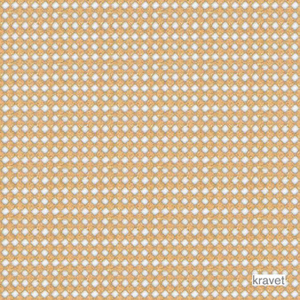 Kravet - Tie The Knot - White Gold  | Curtain Fabric - Midcentury, Synthetic, Diamond - Harlequin, Standard Width