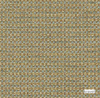Kravet - Queen - Azure  | Upholstery Fabric - Brown, Plain, Synthetic, Chenille, Textured Weave, Plain - Textured Weave, Standard Width