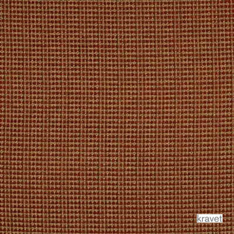 Kravet - Queen - Brick  | Upholstery Fabric - Brown, Plain, Synthetic, Chenille, Textured Weave, Plain - Textured Weave, Standard Width