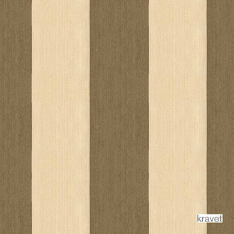 Kravet - Fisherman - Wicker  | Upholstery Fabric - Brown, Outdoor Use, Stripe, Synthetic, Traditional, Standard Width