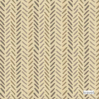 Kravet - Sands Of Time - Sand  | Upholstery Fabric - Beige, Brown, Outdoor Use, Stripe, Synthetic, Traditional, Standard Width