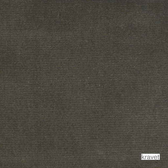 Kravet - Velvet Treat - Grey  | Upholstery Fabric - Plain, Black - Charcoal, Fibre Blends, Velvet/Faux Velvet, Standard Width