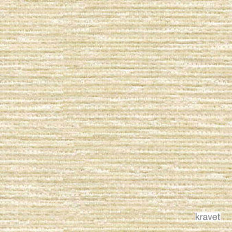 Kravet - Colony Bay - Bisque  | Upholstery Fabric - Beige, Plain, White, Outdoor Use, Synthetic, Chenille, White, Standard Width