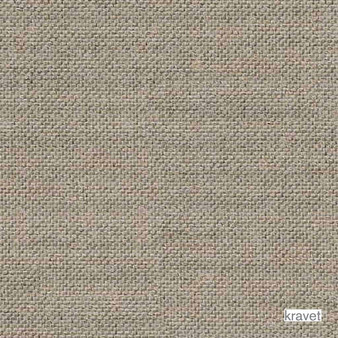 Kravet - Whitney - Flax  | Upholstery Fabric - Beige, Brown, Plain, Synthetic, Standard Width