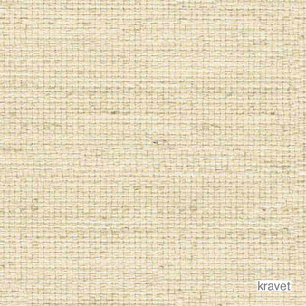 Kravet - Arata - Bisque  | Upholstery Fabric - Beige, Plain, Fibre Blends, Textured Weave, Plain - Textured Weave, Standard Width