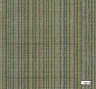 Kravet - Oahu Stripe - Grotto  | Curtain Fabric - Stripe, Synthetic, Traditional, Standard Width