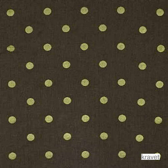 Kravet - 29244_630  | Curtain & Upholstery fabric - Brown, Natural Fibre, Traditional, Dots, Spots, Embroidery, Natural, Standard Width