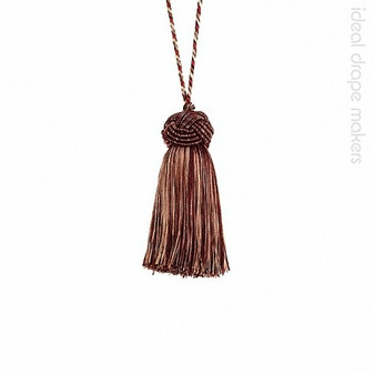 IDM - Classic Exquisite Key Tassel 1050-00 _7112 Cherrywood  | Key Tassel, Curtain & Upholstery, Trim - Brown, Burgundy, Gold,  Yellow, Traditional, Domestic Use