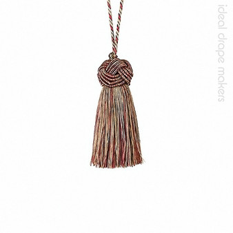 IDM - Classic Exquisite Key Tassel 1050-00 _8822 Ginger Megs  | Key Tassel, Curtain & Upholstery, Trim - Gold,  Yellow, Terracotta, Tan, Taupe, Traditional, Domestic Use