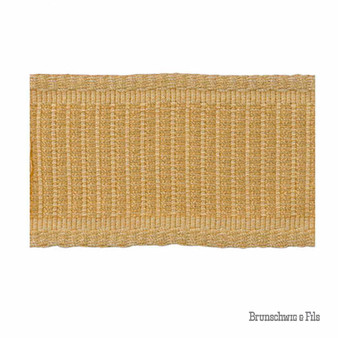 Brunschwig And Fils - Coeur Band - Soleil    Gimps & Braids, Curtain & Upholstery Trim - Gold, Yellow, Traditional, Trimmings, Gimps & Braid