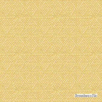 Brunschwig And Fils - Geo Figured - Soleil  | Upholstery Fabric - Gold,  Yellow, Geometric, Natural Fibre, Southwestern, Traditional, Diamond - Harlequin, Natural