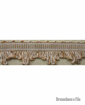 Brunschwig And Fils - Belluno Pointed Gimp - Ivory  | Gimps & Braids, Curtain & Upholstery Trim - Beige, Traditional, Trimmings, Gimps & Braid