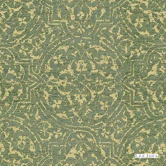 Lee Jofa - Broglie - Lagoon  | Upholstery Fabric - Damask, Fibre Blends, Traditional, Chenille, Standard Width