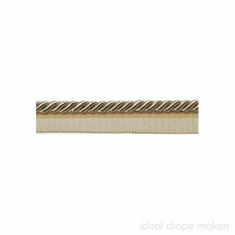 IDM - Classic Windsor Flanged Cord 1029T _8008 Pale Gold    Flange Cord, Trim - Gold, Yellow, Tan, Taupe, Traditional, Trimmings, Flange Cord