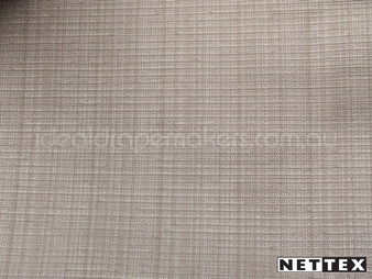Nettex Grange Latte MG39  | Curtain Fabric - Plain, Silver, Fibre Blends, Tan, Taupe, Uncoated, Domestic Use, Standard Width, Strie