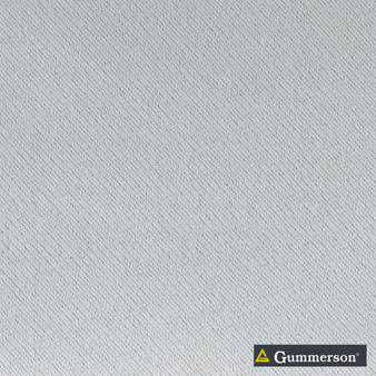 Gummerson - Continuous-Softweave Snow Room-Darkening 290cm  | Curtain Fabric - Blue, Fire Retardant, Grey, Plain, White, Synthetic, Washable, Weave, Domestic Use, Softweave
