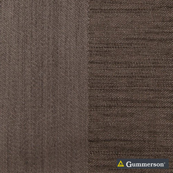 Gummerson - Valencia Nullabor Blockout 150cm  | Curtain Fabric - Blockout, Brown, Coated, Contemporary, Stripe, Synthetic, Traditional, Washable, Domestic Use, Standard Width
