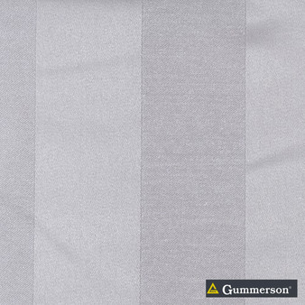 Gummerson - Valencia Linen Uncoated 150cm  | Curtain Fabric - Fire Retardant, Grey, White, Contemporary, Modern, Stripe, Synthetic, Traditional, Uncoated, Washable, White