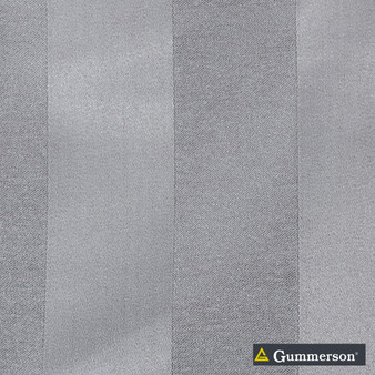 Gummerson - Valencia Concrete Uncoated 150cm  | Curtain Fabric - Fire Retardant, Grey, Contemporary, Industrial, Modern, Stripe, Synthetic, Traditional, Uncoated, Washable