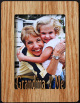 GRANDMA & ME ~ Portrait 2x3 Wallet Photo/Picture Magnet for your Refrigerator
