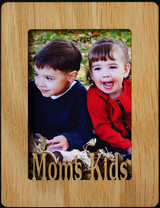 MOM'S KIDS ~ Portrait 2x3 Wallet Photo/Picture Magnet for your Refrigerator