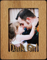DAD'S GIRL ~ Portrait 2x3 Wallet Photo/Picture Magnet for your Refrigerator