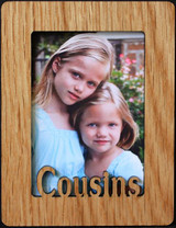COUSINS ~ Portrait 2x3 Wallet Photo/Picture Magnet for your Refrigerator! Great Gift for Cousin/s