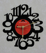 ALICIA BRIDGES ~ Wall Clock made from the Vinyl Record LP ~ Decorative & Functional Art!
