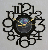 POINTER SISTERS ~ BREAK OUT ~ Wall Clock made from the Vinyl Record LP ~ Recycled LP Vinyl Record/Album Clock