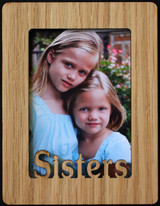 SISTERS ~ Portrait 2x3 Wallet Photo/Picture Magnet for your Refrigerator! Great Gift for Sister/s!!