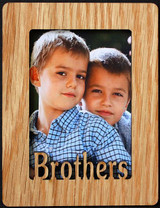BROTHERS ~ Portrait 2x3 Wallet Photo/Picture Magnet for your Refrigerator! Great Gift for Brother/s!!