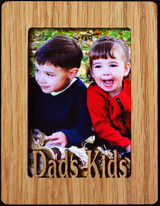 DAD'S KIDS ~ Portrait 2x3 Wallet Photo/Picture Magnet for your Refrigerator
