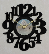 AIR SUPPLY ~ NOW AND THEN ~ Wall Clock made from the Vinyl Record LP
